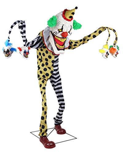 Spirit Halloween 6.2 Ft Cuddles The Clown Animatronic