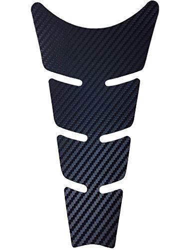 Protection Réservoir Adhésive pour Motos Flat, Carbone, 20,5 x 11,5 cm