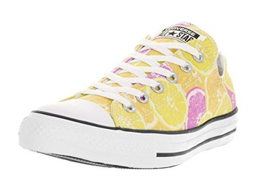 Converse All Star Hi, scarpe unisex Giallo Size: 7.5 B(M) US Mujer / 5.5 D(M) US Hombre