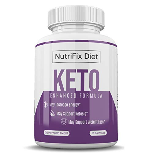 Nutrifix Diet - Keto Enhanced Formula - May Increase Energy - Support Ketosis and Weight Loss - 30 Day Supply