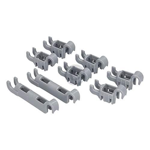 Set di clip di ricambio per Bosch 00611472 611472 611472, ganci di fissaggio per cestello inferiore e lavastoviglie