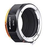 K & F Concept M17115 PK-FX Pro Hochpr?ziser Adapterring, Kompatibel mit der Verwendung von Pentax K-Objektiven bei Fujifilm X Kameras.