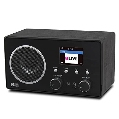 Radio FM Digital De Internet Wifi Portátil Con Batería Recargable, Receptor Bluetooth,...