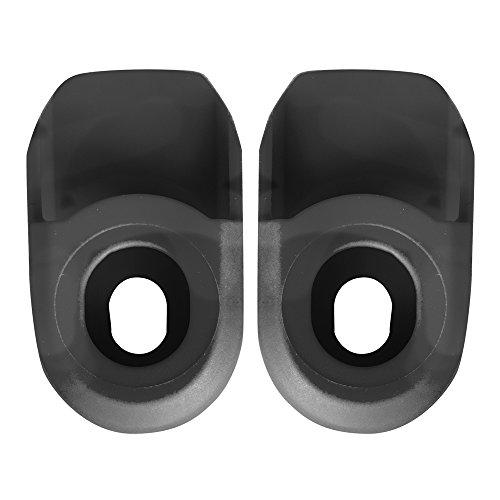 SB3 SBPEPRO2 Paire de Protections de manivelle Mixte Adulte, Noir