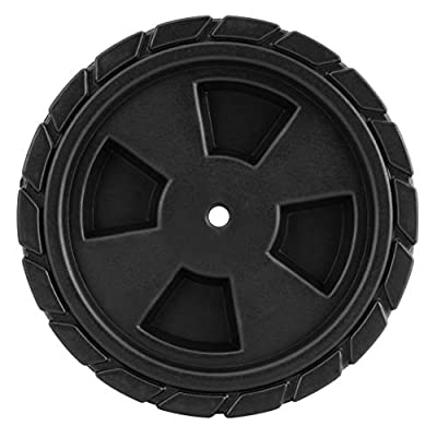 Kenmore PP-20007-AM 4 Burner Gas Grill Open Cart Replacement Wheels, 2-Pack, Black