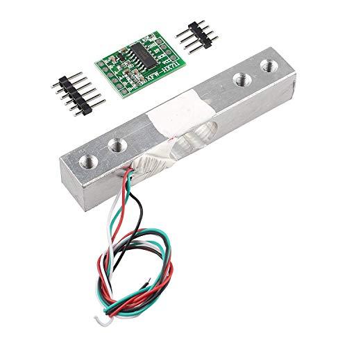 HALJIA 10 kg Waage Sensor Wägezelle Elektronische Küchenwaage HX711 AD Wiegemodul Waage Drucksensor Kompatibel mit Arduino