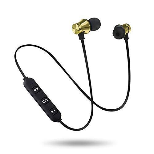 TAORANG Auriculares Bluetooth con micrófono inalámbricos impermeables en la oreja con cancelación de ruido para el trabajo al aire libre en casa, oficina, correr deportes