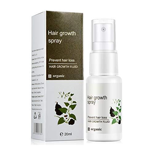 Symeas Polygonum Multiflorum Croissance Des Cheveux Sérum Cheveux Huile Essentielle Traitement Liquide Prévention De La Chute Des Cheveux Favorise Plus Épais, Plus Complet 20 ml