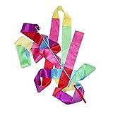 Yoyakie Cinta De Danza Gimnasia Rítmica Streamer Arte De Gimnasia Ballet De Giro De Rod De Navidad para Los Deportes Color Mezclado