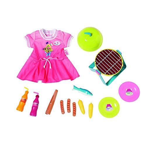 Zapf Creation 824733 Baby Born Play&Fun Grillspass Set, bunt