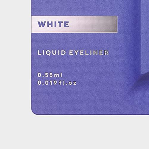 UZUBYFLOWFUSHI(ウズバイフローフシ)アイオープニングライナー[ホワイト]リキッドアイライナーお湯オフアルコールフリー染料フリー低刺激性