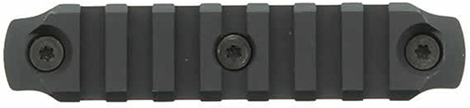 "BRAVO COMPANY BCM Keymod Aluminum Picatinny Rail Section, Black, 4"""