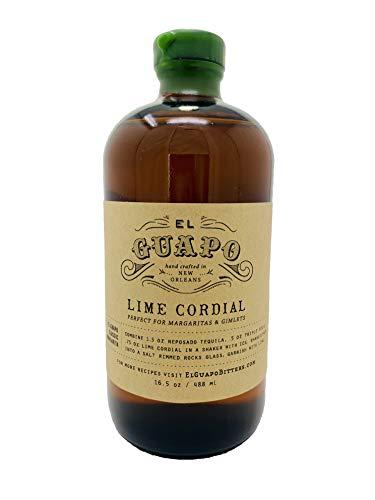 El Guapo Lime Cordial Syrup (16.5oz)