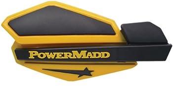 PowerMadd 34201 Star Series Handguard - Yellow/Black