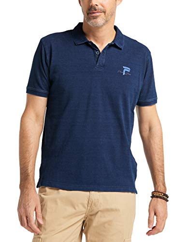 Pioneer Herren Indigo Poloshirt, Blau (Indigoblue 578), XXX-Large (Herstellergröße: 3XL)