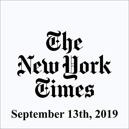 September 13, 2019 cover art