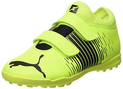 Puma Future Z 4.1 TT V JR, Zapatillas de fútbol Unisex niños, Yellow Alert Black White, 29 EU