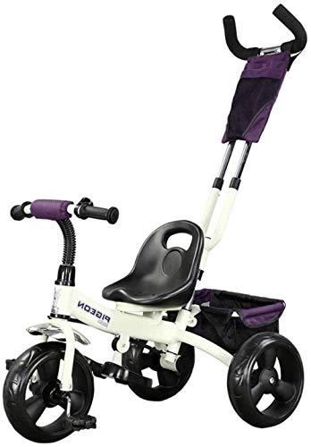 Pushchairs Kinderschommelpaardentrikes Draagbare driewieler met mand Kinderwagen 1-6 Jaar Oud Kinderfiets 2 Kleuren voor Mannen en Vrouwen Babyproducten