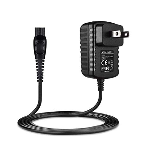 15V Shaver Power Supply Cord for Philips Norelco HQ8505 3000 5000 7000 7750 Series MG7790 QP6520 Shaver Razor Adapter, Bodygroom, Arcitec, Multigroom Beard SensoTouch Electric Shaver and More