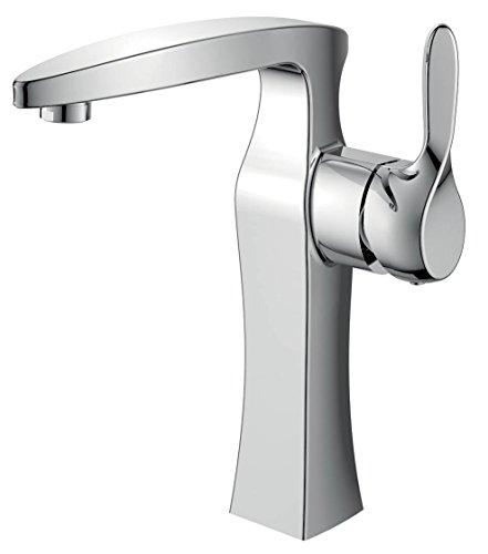Altezza rubinetto monocomando rubinetto per lavabo lavandino bagno stanza (sprea 7)