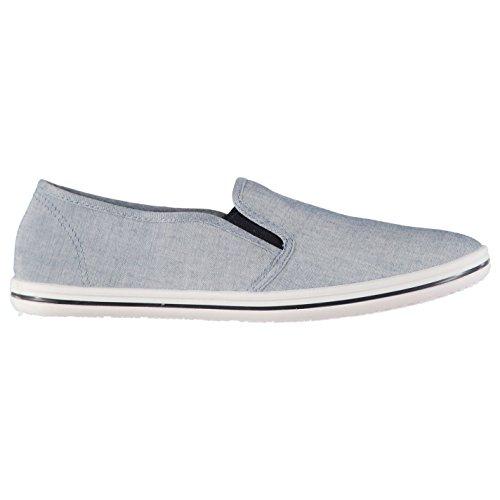 Slazenger Herren Canvas Slipper Sneaker Chambray 46