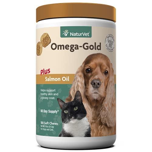 NaturVet – Omega-Gold Plus Salmon Oil