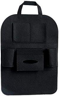 PU Leather Car Seat Organizer Holder Multi Function Pockets Travel Storage Hanging Bag Diaper Bag Baby Kid Car Seat Hangin...