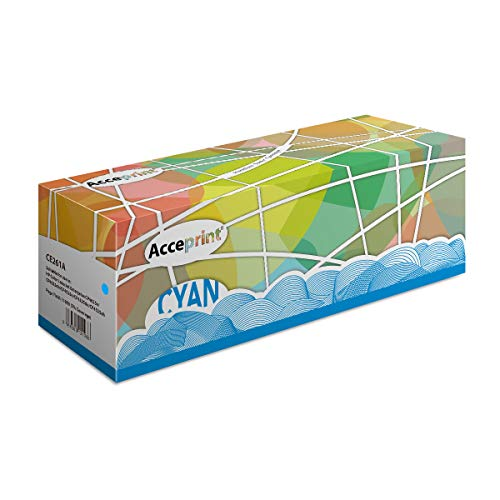 Acceprint 648A CE261A Tonerkartusche Cyan für HP Color Laserjet Enterprise CP4025n CP4025dn CP4525n CP4525dn CP4525xh