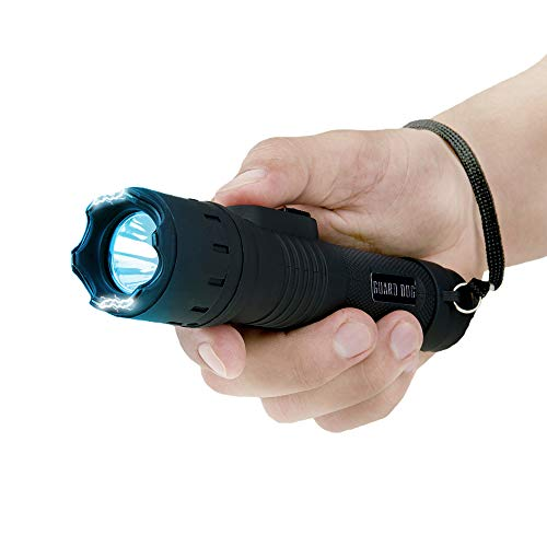Guard Dog Security Stealth Compact Stun Gun Flashlight, Maximum Voltage, Holster Included,...