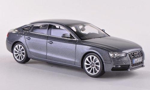 Audi A5 Sportback, met.-grau, 2012, Modellauto, Fertigmodell, Norev 1:43