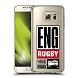 Head Case Designs sous Licence Officielle England Rugby Union Eng Rugby Logo Rose Rouge Coque en Gel...