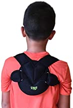 باند Clavicle توسط Soles - Adjustable، انعطاف پذیر، Neoprene تنفس - Unisex - Clavicle Brace برای آسیب های Collarbone (اطفال)
