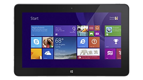 DELL Venue 11 Pro 128GB Schwarz - Tablets (Tablet Full-Size, Tablet, Windows 8.1 Pro, Schwarz, 802.11n, Intel)