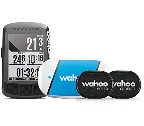 Wahoo Fitness ELEMNT Bolt Bike Computer Bundle, Unisex Adulto, Black