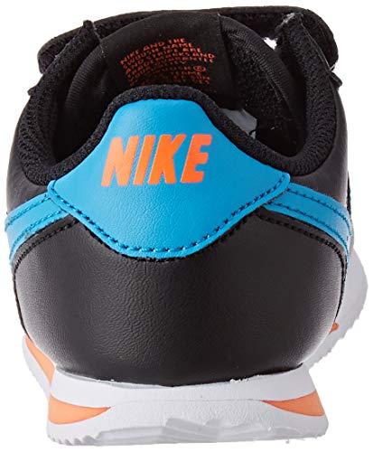 Nike Cortez Basic SL (TDV), Children's Running Shoes, Black, Blue, EU 27