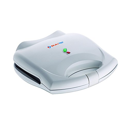 Bajaj Majesty SWX400 700-Watt Grill Sandwich Toaster (White)