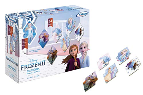Memória Frozen Disney Xalingo