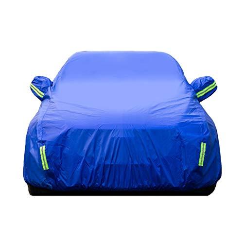 LIAOMJ-Fundas para Coche Proteger Compatible con Ferrari California Portofino Pista Especial Espesar de toldos Parasol Coche de Tela Impermeable Protección de Nieve Cubierta Sedan Cubierta del Coche