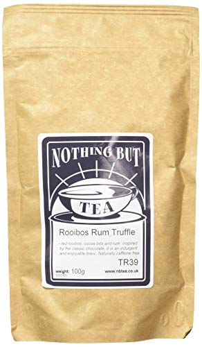 Nothing but Tea Rooibos Rum Truffle Herbal Infusion Pouch, 100 g