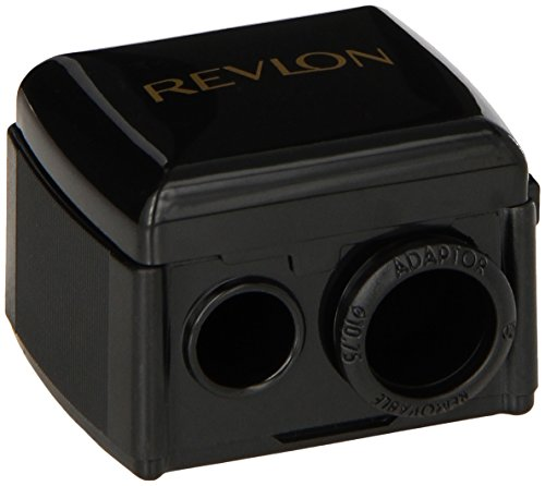 Revlon Universal Points Sharpener, Dual Pencil Sharpener for Lip Liner, Eyebrow, and Eyeliner Pencils