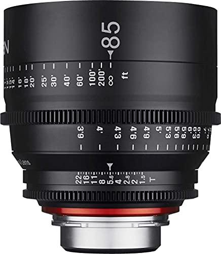 Samyang XEEN - Objetivo (85 mm, T1.5 FF, Cine Canon)