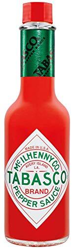 TABASCO Original Red Pepper Sauce – 150 ml Glasflasche - 100% natürliche Zutaten – Hot Sauce - scharfe Chili-Sauce