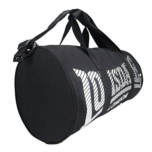 Sporttasche / Sporttasche / Reisetasche, schwarz / weiß, N