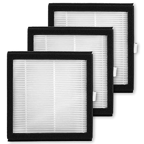 Tenergy 3 Pack Replacement H13 Medical Grade Hepa Filter for Tenergy Sorbi Dehumidifier and Air Purifier