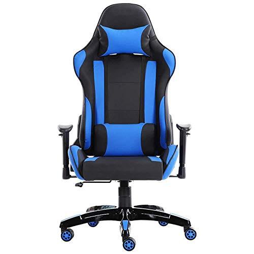 LIULIFE Silla Racing Gaming Office PC Silla Giratoria para Computadora 360 ° Altura De Rotación Aj