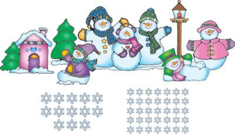 CARSON Dellosa DJ-610018 32 \ x 22\    Snow Pals Bulletin Board Set B000NNM1WY | Charmantes Design  189680