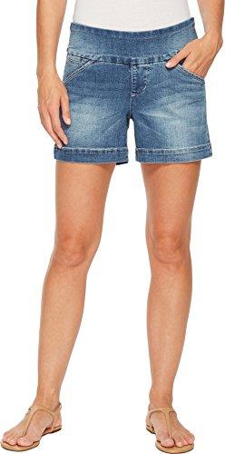 "Jag Jeans Women's Ainsley Pull on 5"" Short, Horizon Blue, 6"