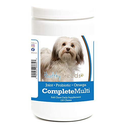 Healthy Breeds Havanese All in One Multivitamin Soft Chew 120 Count
