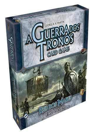 A GUERRA DOS TRONOS - CARD GAME - REIS DOS MARES (EXP.)