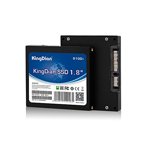 SunBow 1,8-Zoll-SATA2 8GB 16GB 32GB SATAII SSD Solid State Drive für POS-Game Advertising Maschine Thin-Client-Router (8GB)